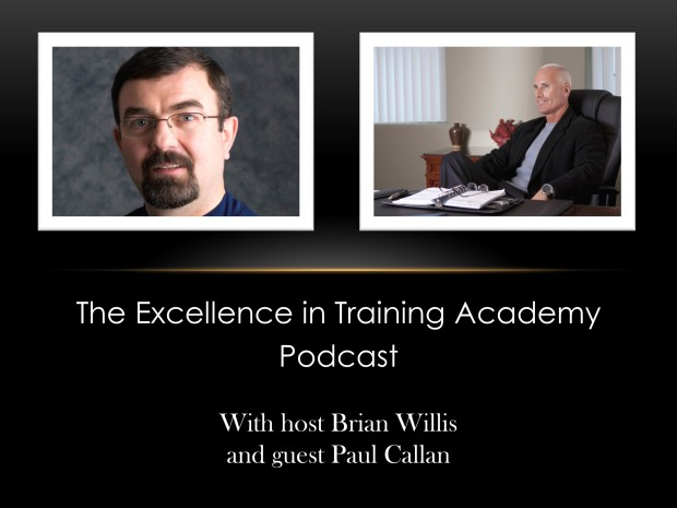 Excellence in Training Podcast Image